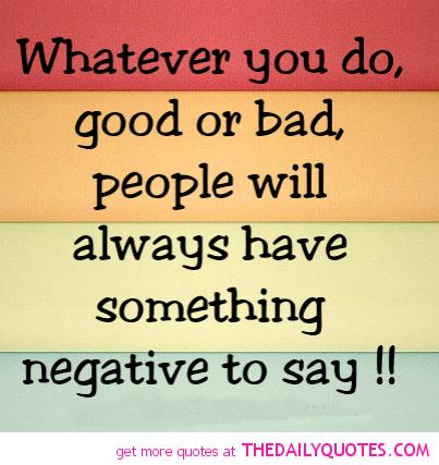 Famous Negative Quotes. QuotesGram