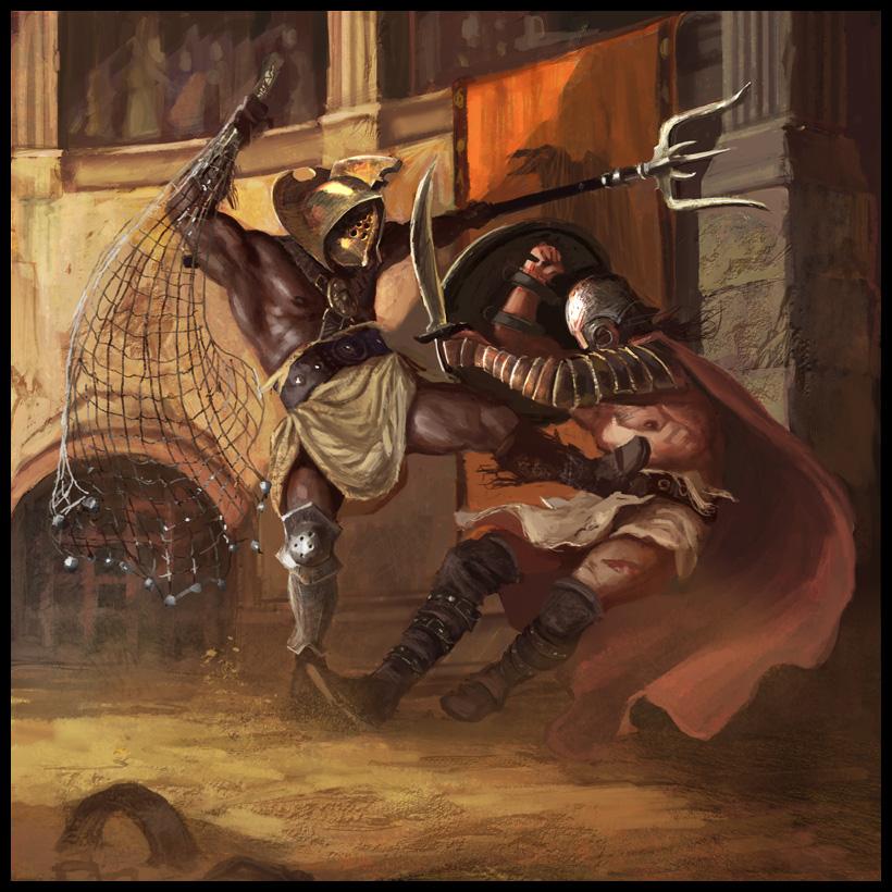 macbeth and gladiatior