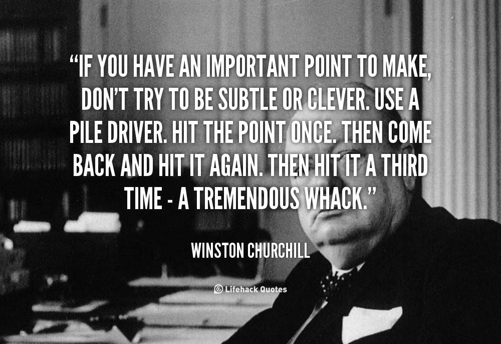Winston Churchill Quotes About Writing