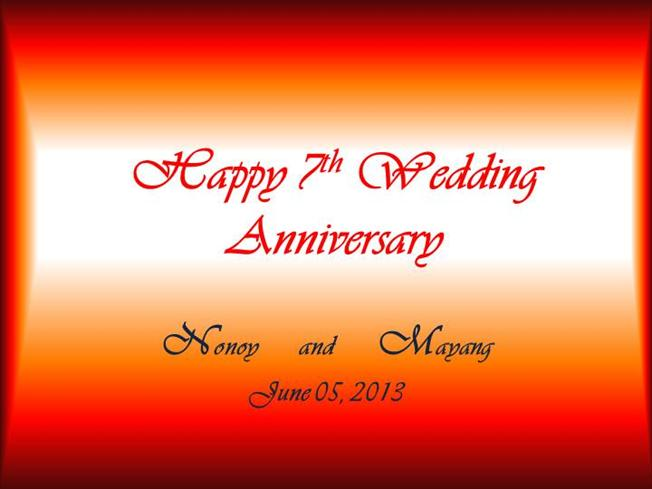 7 Year Wedding Anniversary Quotes