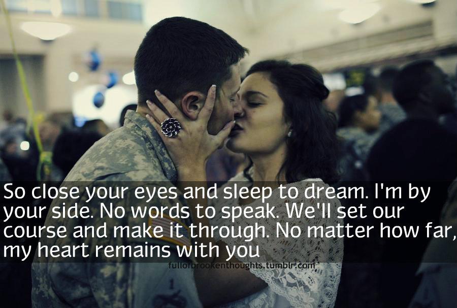 Military Love Quotes. QuotesGram