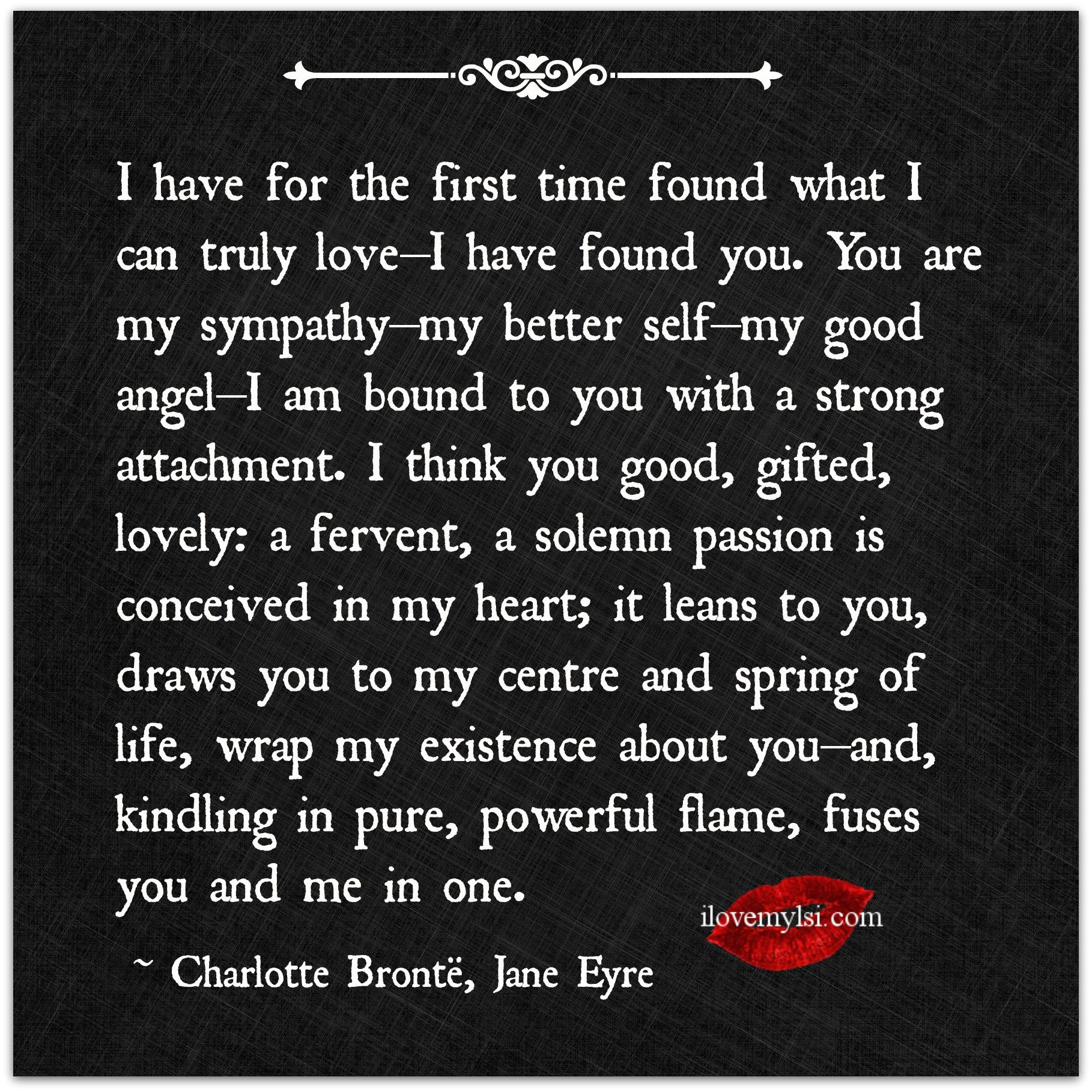 Love Finds You Quote: I Found The Love Of My Life Quotes. QuotesGram