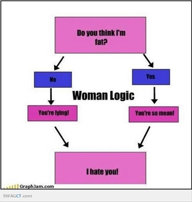 Women Logic Quotes Quotesgram