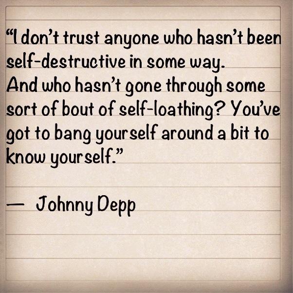 Self-Destructive Quotes. QuotesGram