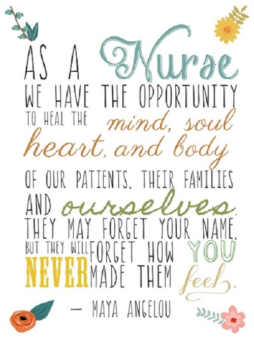 Positive Quotes For Nursing Students: Registered Nurse Quotes Inspirational. QuotesGram
