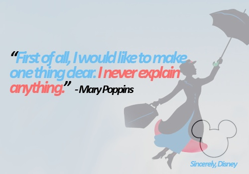 Mary Poppins Quotes And Sayings. QuotesGram