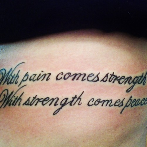 23 Best Amazing Tattoo Quotes For Men Images On Pinterest: Amazing Tattoo Quotes. QuotesGram