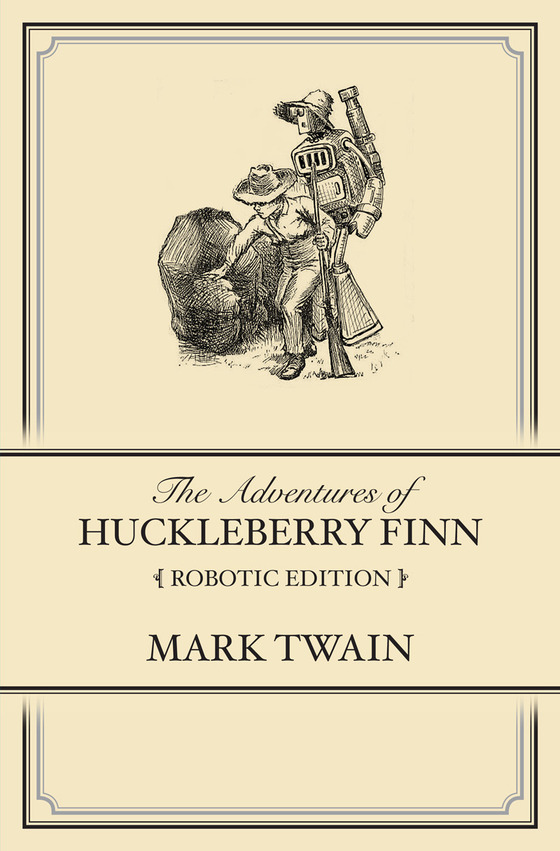 political satire in huck finn Dissenters in difficult or oppressive political and social periods  huck finn,  portrayed by twain as an outsider in a similar fashion to those of.