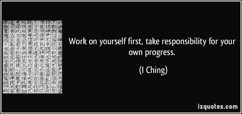 Quotes About Taking Responsibility Quotesgram