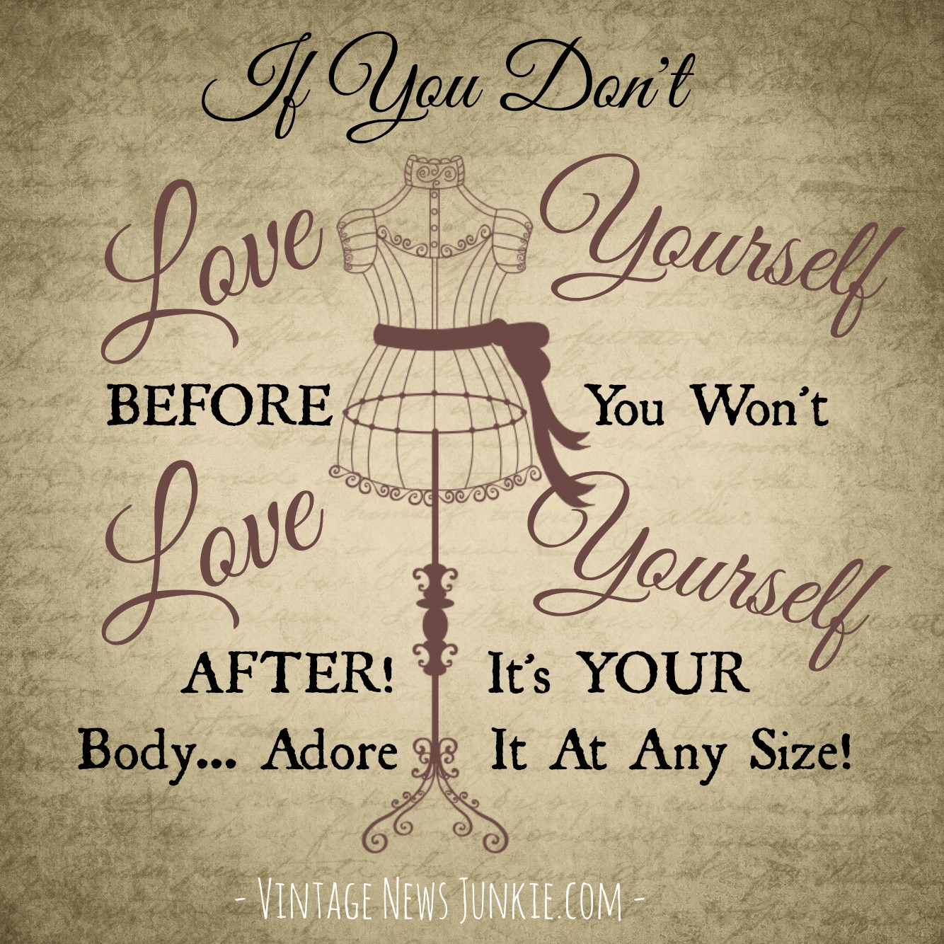 Love Finds You Quote: Love Your Body Quotes. QuotesGram