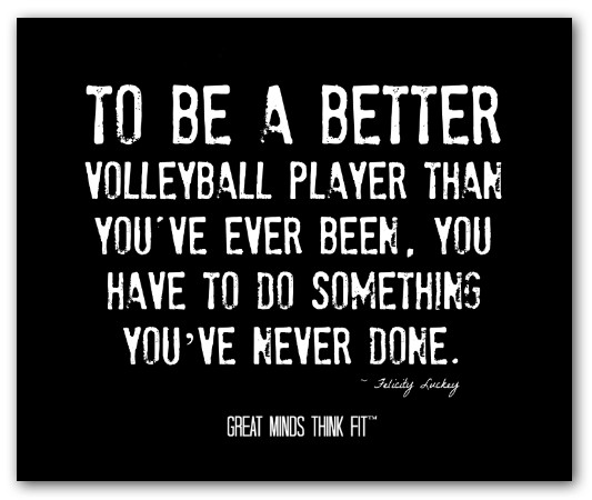 Sports quotes volleyball