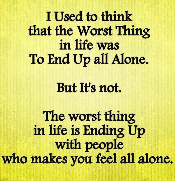 Saying Quotes About Sadness: Quotes About Feeling Alone. QuotesGram