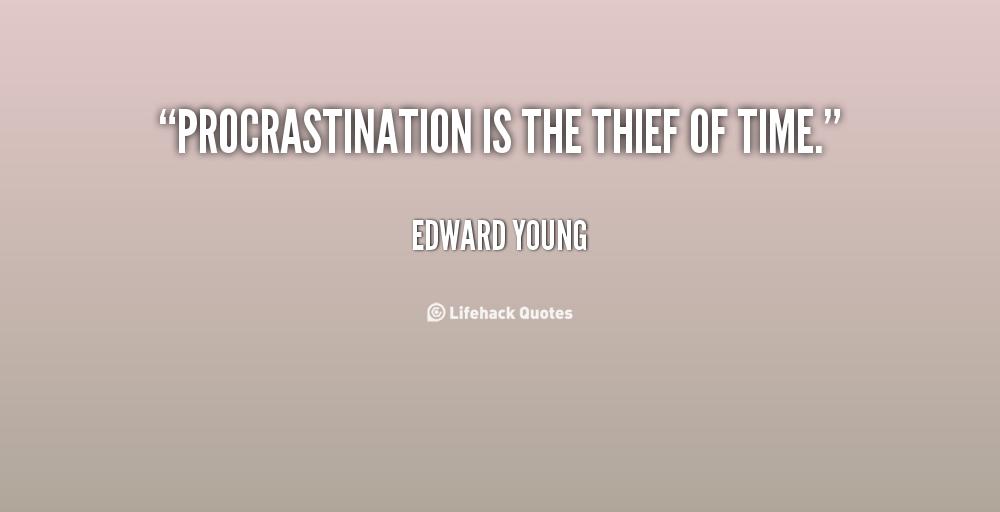 cause effect essays procrastination