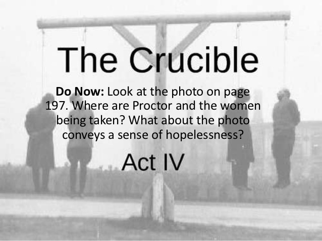 the crucible there is always more The crucible by arthur miller deals it is a metaphor of the immortal underlying forces that can always freer thinking individuals explore a more.