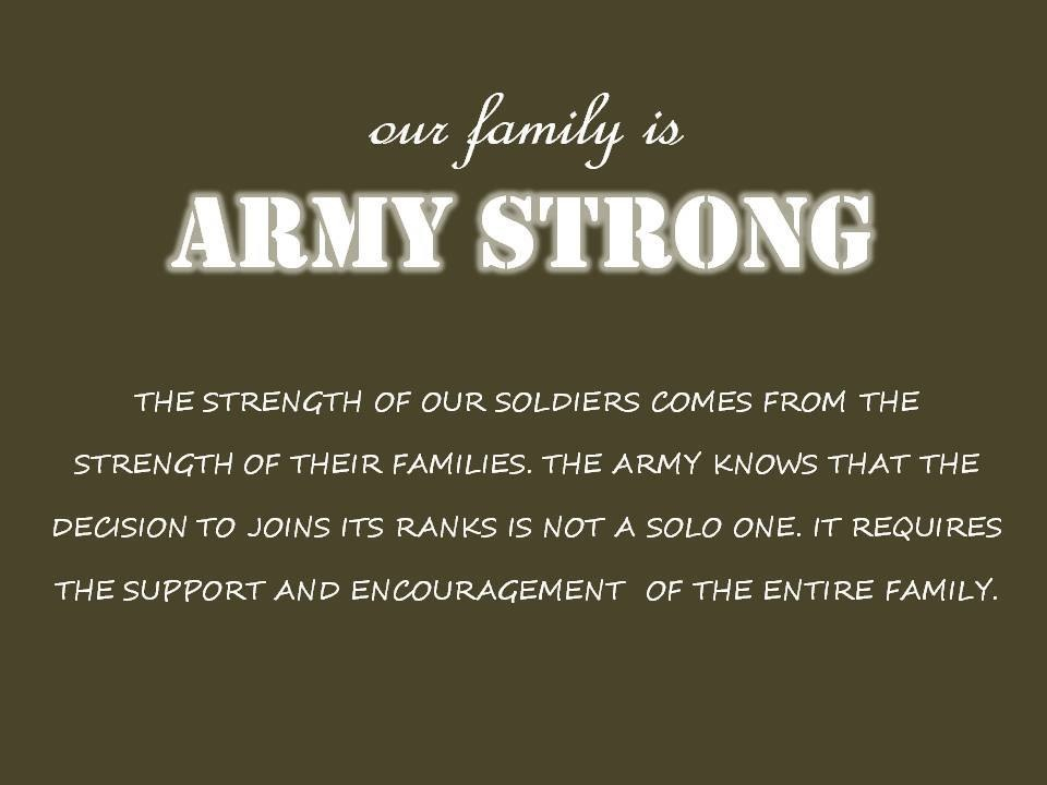 Army Wife Quotes And Sayings: Strong Army Wife Quotes. QuotesGram