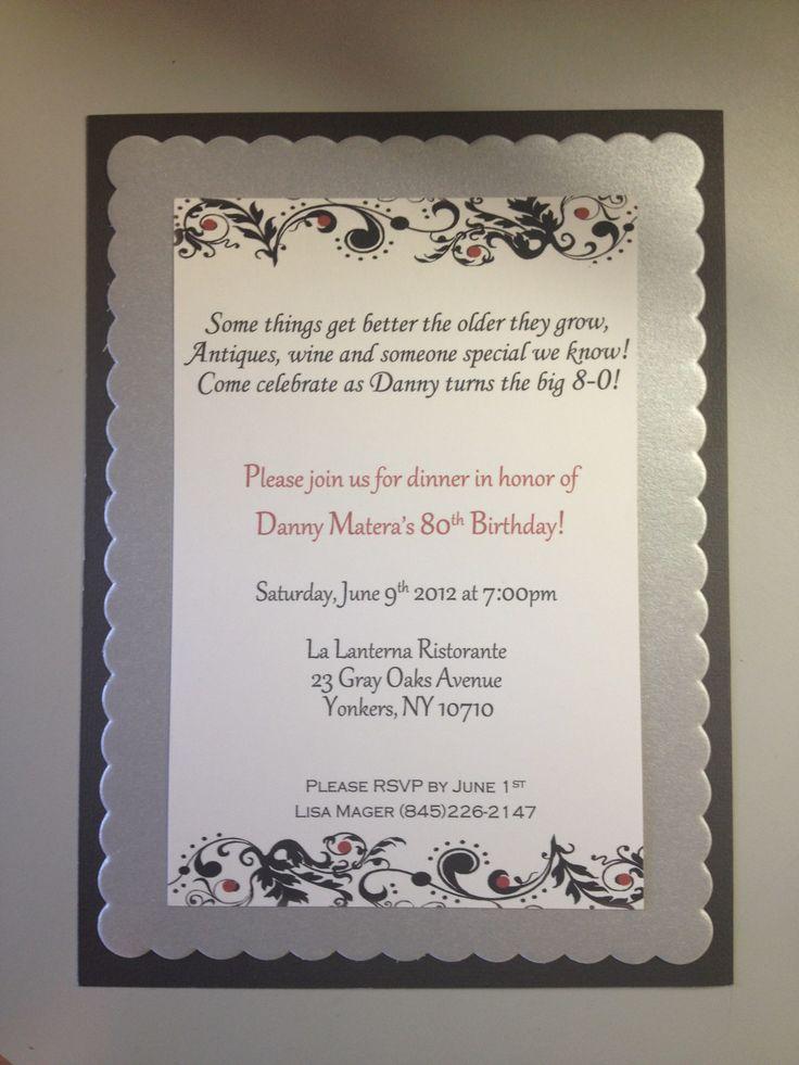 quotes for 80th birthday invitations  quotesgram