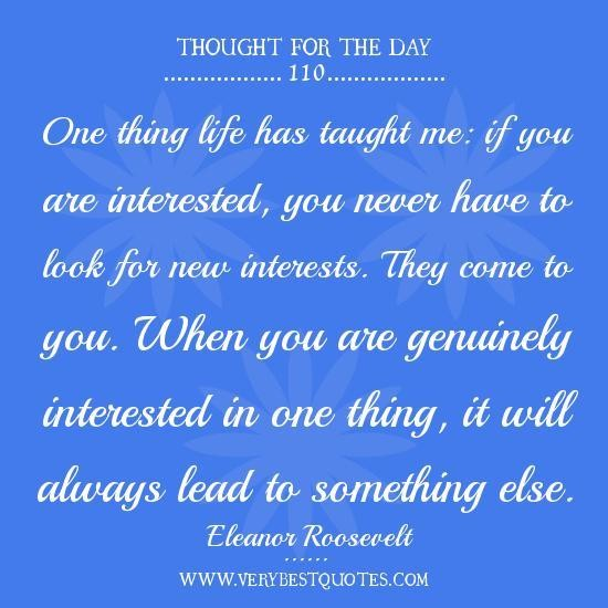 Thought For The Day With Meaning Quotes. QuotesGram