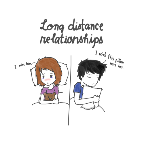 Long Distance Love Quotes For Him From Her Quotesgram