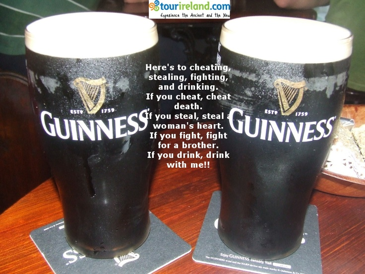 Irish Drinking Sayings And Quotes. QuotesGram