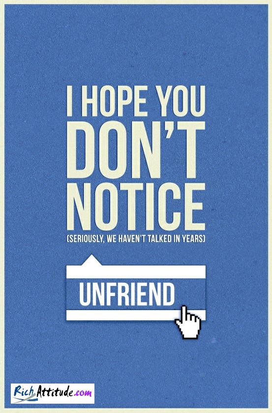 You Deleted Me Off Facebook Quotes. QuotesGram