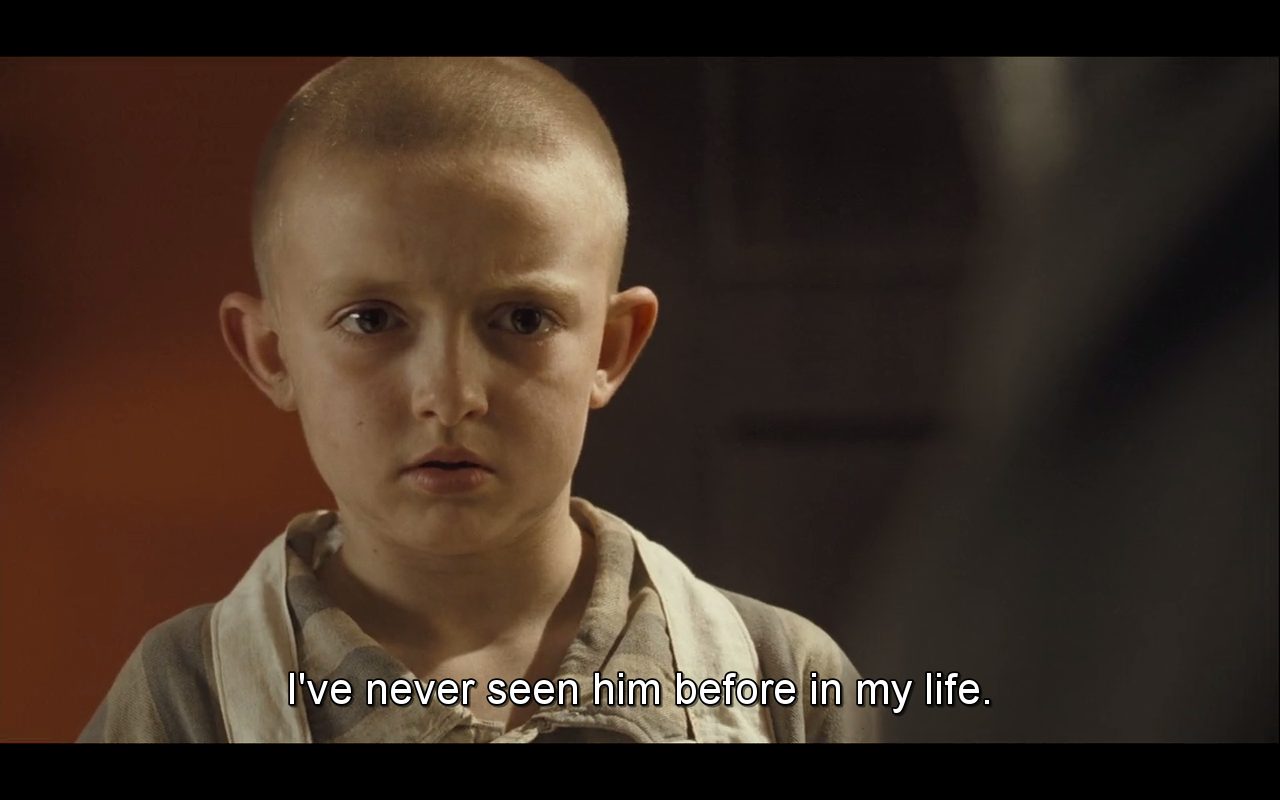 Night and Boy in the Striped Pajamas Comparison
