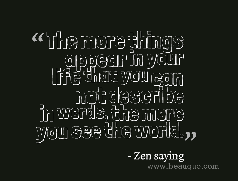 zen quotes about life - photo #17