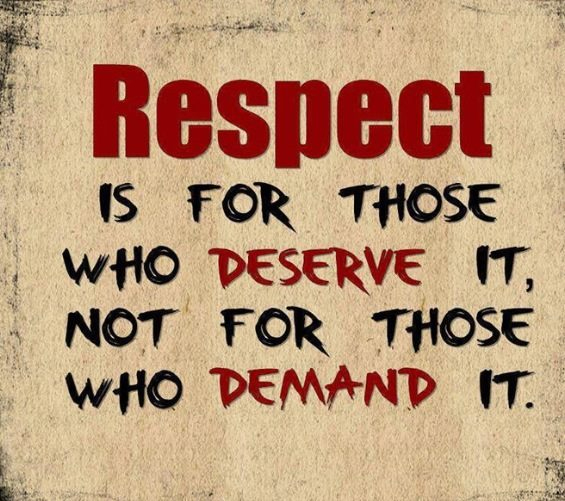 Quotes About Lack Of Respect. QuotesGram