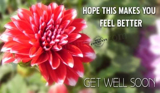 Hope For Better Days Quotes Quotesgram: Hope You Feel Better Quotes. QuotesGram