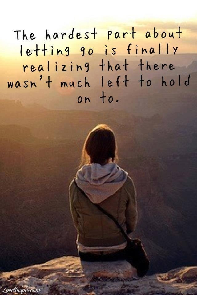 Letting Go Unhealthy R...