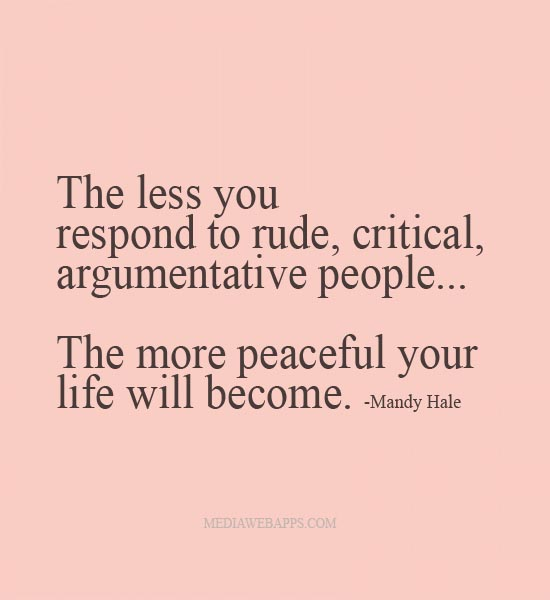 People Are Funny Quotes: Rude People Quotes And Sayings. QuotesGram