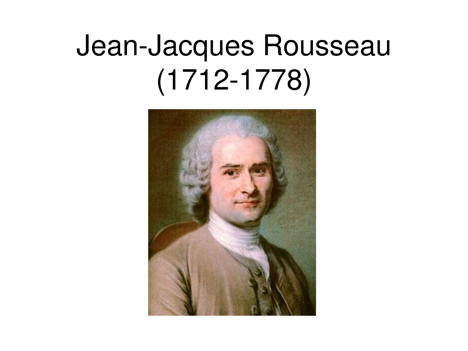 the social contract of jean jacques rousseau Like thomas hobbes and john locke, jean-jacques rousseau was an enlightenment era philosopher, political thinker, and social contract theorist.