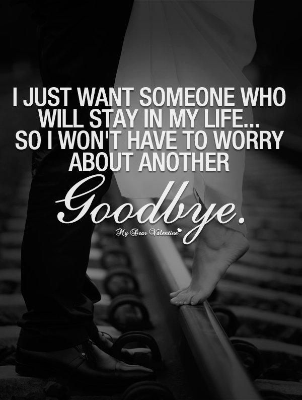I Love You Quotes: I Love You Goodbye Quotes. QuotesGram