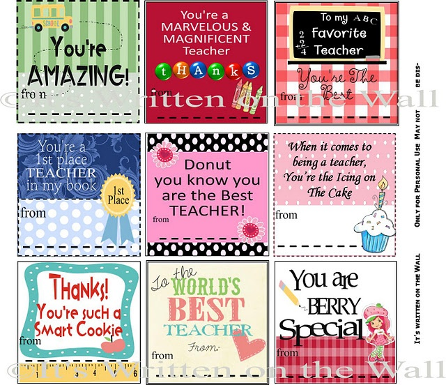 Unusual image regarding free printable teacher appreciation quotes