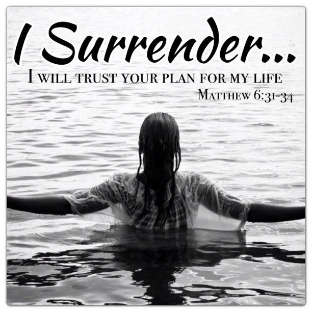 Love Quotes About Life: Christian Inspirational Quotes About Surrender. QuotesGram