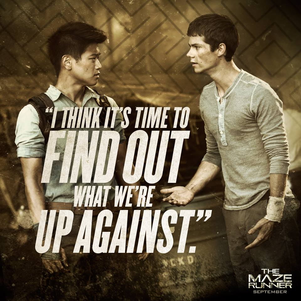 Love Finds You Quote: Thomas Maze Runner Quotes. QuotesGram