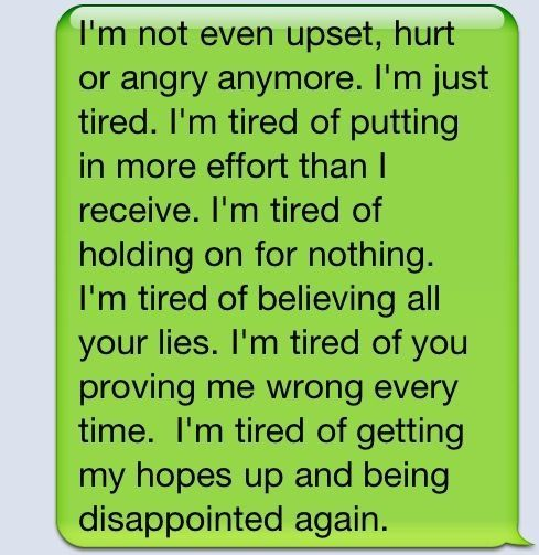 Tired Of Being Disappointed Quotes. QuotesGram