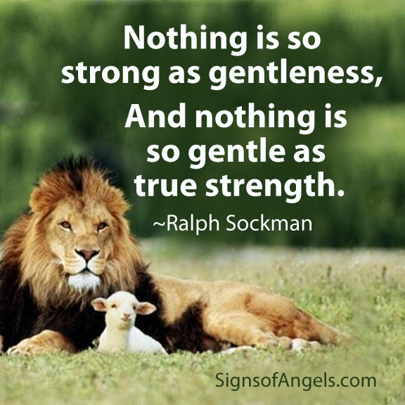 Lion Sheep Quote: Christian Quotes About Gentleness. QuotesGram