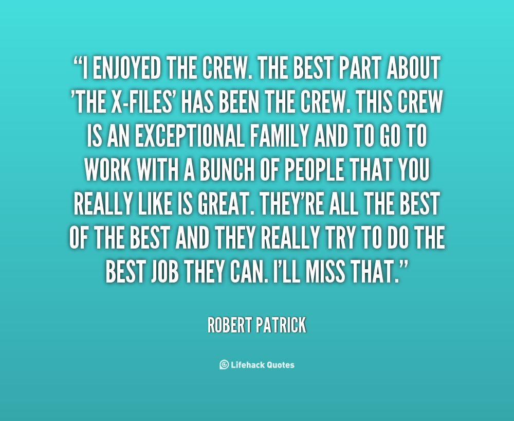 Best Part Of The Day Quotes: Best X Files Quotes. QuotesGram
