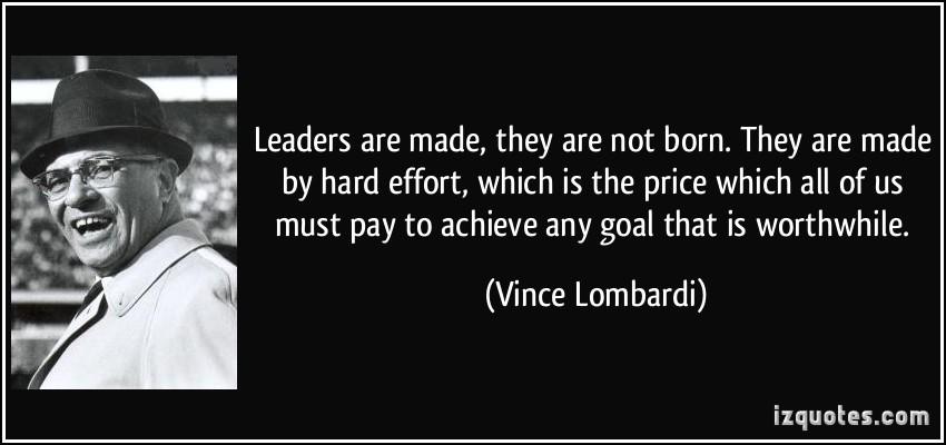 Leaders Are Born Quotes. QuotesGram