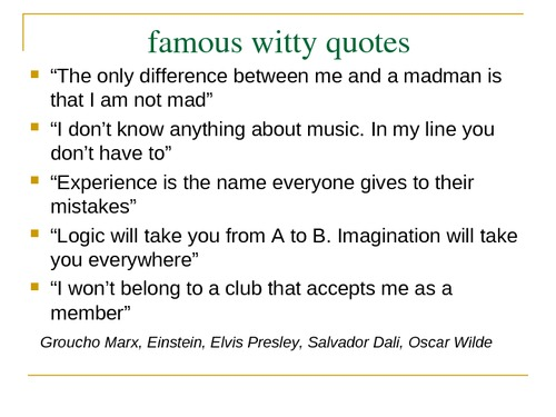 Witty Quotes. QuotesGram