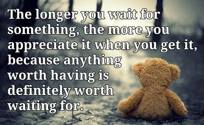 Quotes About Waiting For The Right Person. QuotesGram