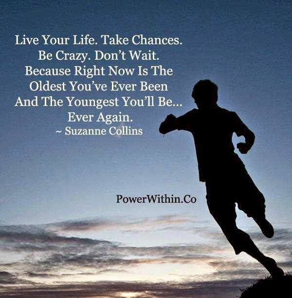 Live Your Life Crazy Quotes: Inspirational Quotes To Live By. QuotesGram