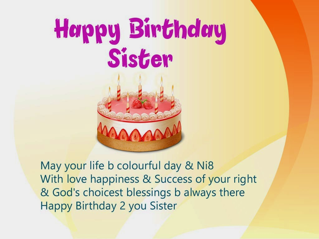 Happy B Day Quotes For Sisters. QuotesGram