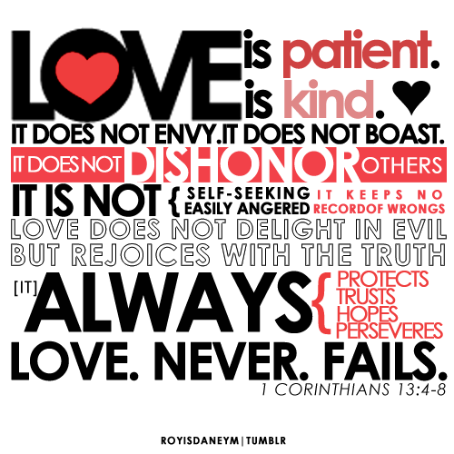 1 corinthians 13 what is love essay