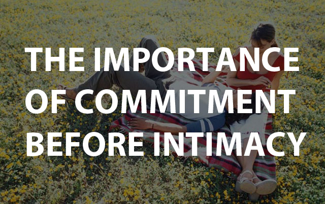 commitment and emotional intimacy in a relationship