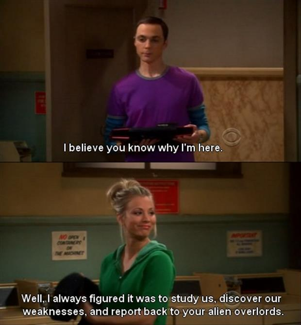Sheldon Funny Quotes: Penny And Sheldon Quotes. QuotesGram