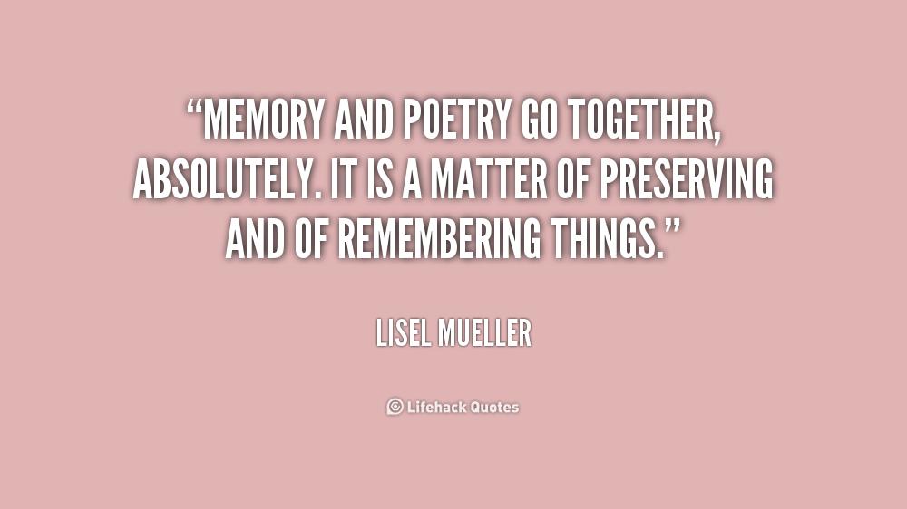 Lisel Mueller Quotes Quotesgram