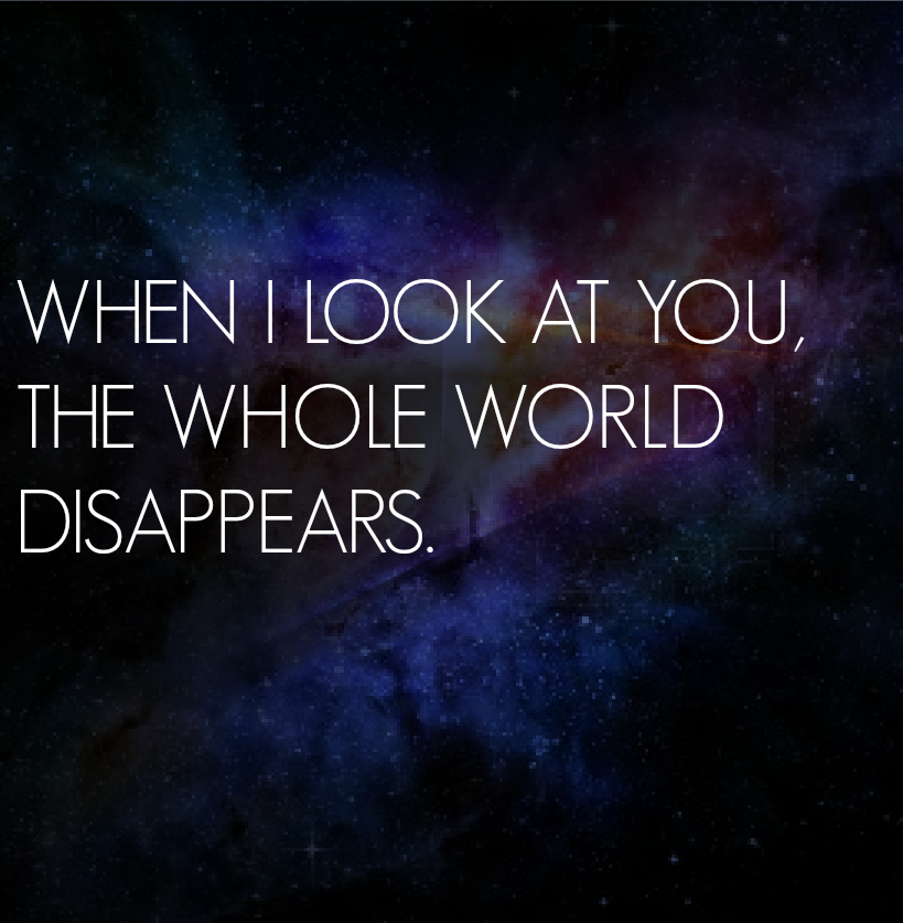 Sad Tumblr Quotes About Love: Galaxy I Love You Quotes. QuotesGram
