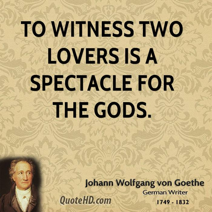 Goethe Quotes About Love: Wolfgang Von Goethe Quotes Love. QuotesGram