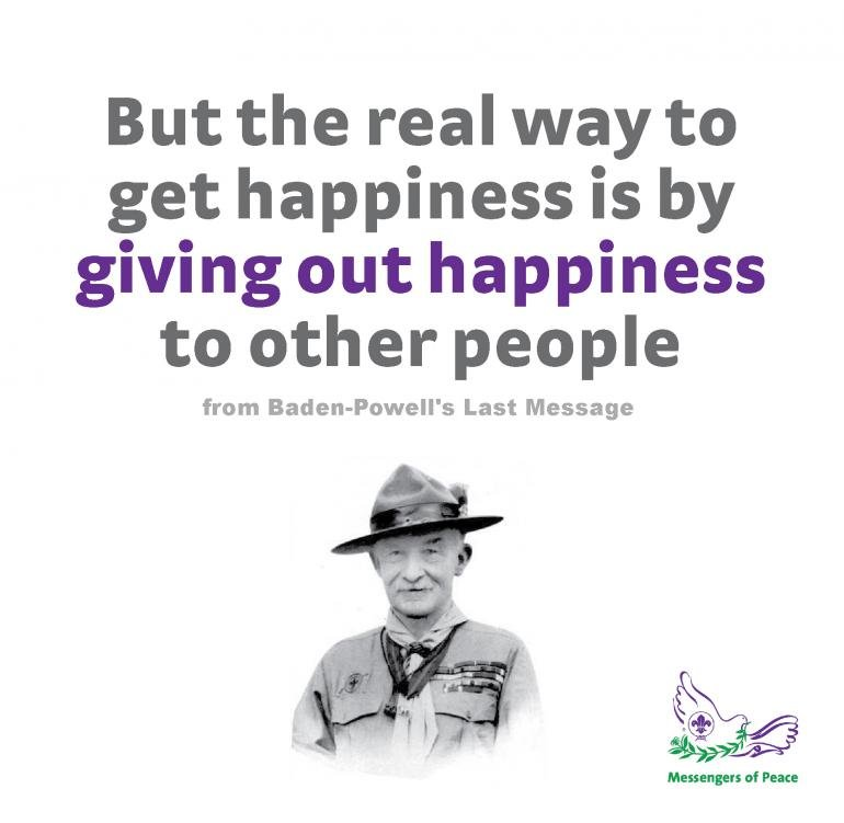 Baden Powell Quotes Quotesgram